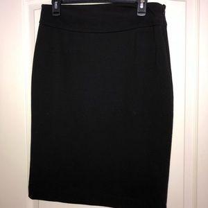 Grace Elements Size 8 Black Pencil Skirt